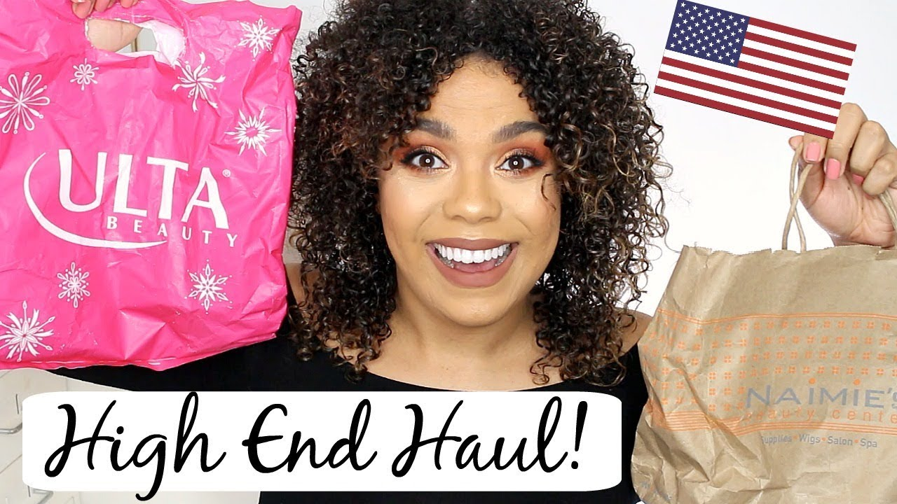 478b58c0842 High End Haul ! Ulta, Naimies, Sephora and Beauty Boutique! - YouTube