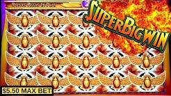 Super Rise Of Ra Slot Machine MASSIVE WIN | Better Than Handpay Jackpot | Max Bet Bonus & HUGE WIN