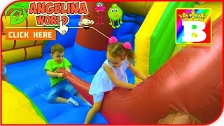Trailer.  Angelina World and Bogdan's Show play on inflatables outdoor playgrounds.  FUN for kids.