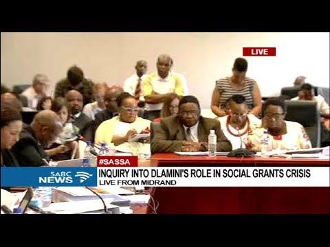 Inquiry into Bathabile Dlamini's role in social grants crisis