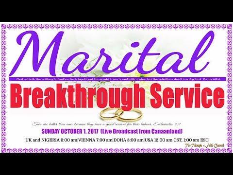 Bishop David Oyedepo @ Marital Breakthrough Service October 1,  2017 [1st Service in Full]