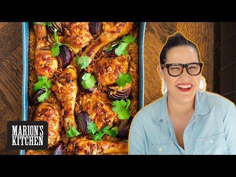 ONE PAN chicken & rice traybake dinner ✌️| Marion's Kitchen
