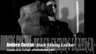 AVDERE GVSTAV -BLACK SHINING LEATHER-(Carpathian Forest cover)