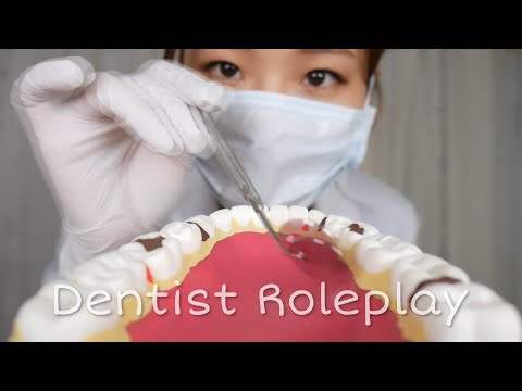 [English ASMR] Kind doctor giving you teeth scaling🦷 | Dental clinic roleplay