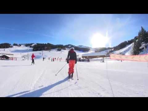 Piste de ski La Renardière - Les Gets