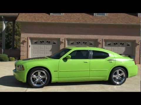 2007 Dodge Charger Rt Sub Lime Green Hemi For Sale See Www