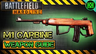 battlefield hardline m1 carbine review gameplay best gun setup   weapon guide bfh