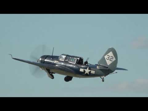 Curtiss SB2C Helldiver Ride - WWII Weekend 2017 - 4PM Saturday