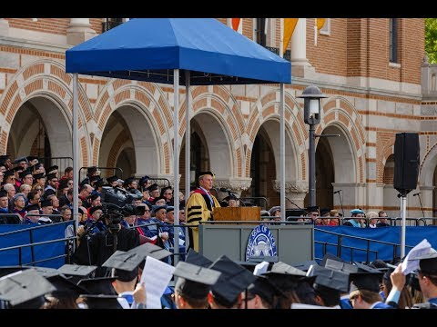 Mike Bloomberg Delivers Rice University Commencement Address