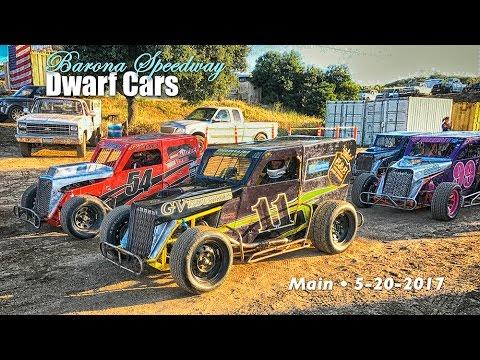 Barona Speedway Dwarf Cars • Main 5-20-2017