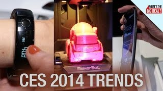 Curved Screens, UHD TVs, 3D Printers And More: The Trends Of CES 2014