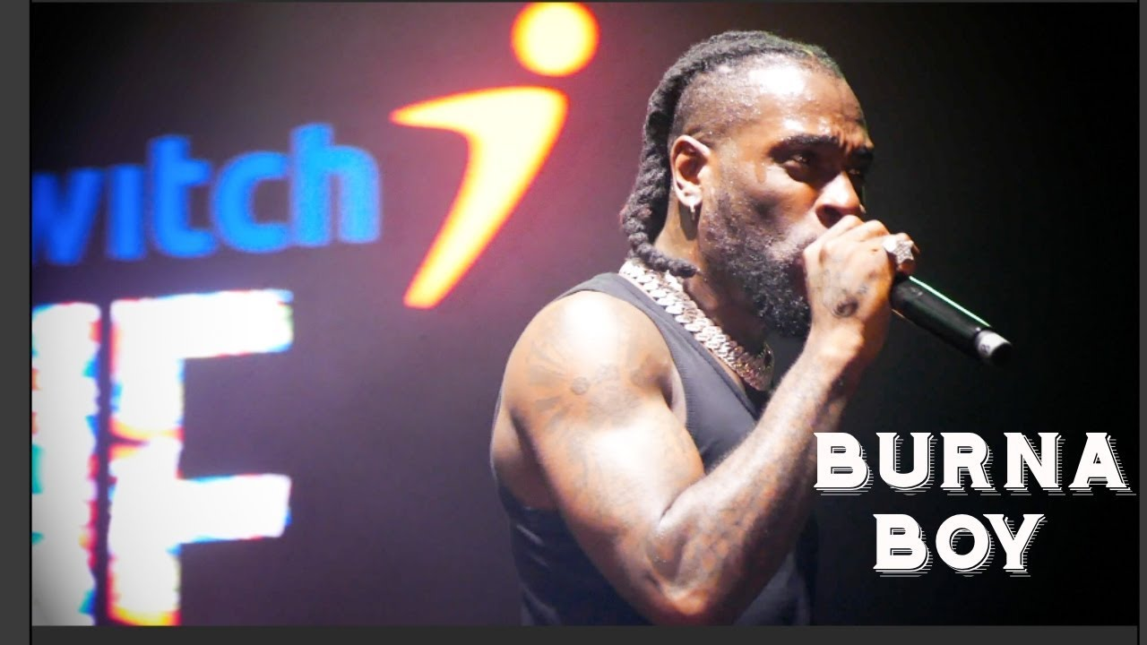 BURNA BOY & MEDIA OUTLETS WERE DISRESPECTED AT ONE AFRICA |
