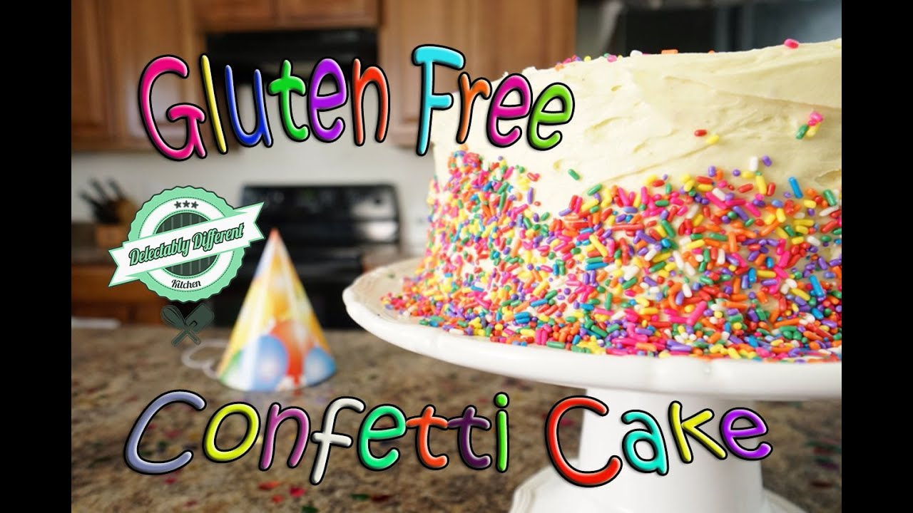 How To Make A Gluten Free Birthday Cake Ddk Ep 36 Youtube