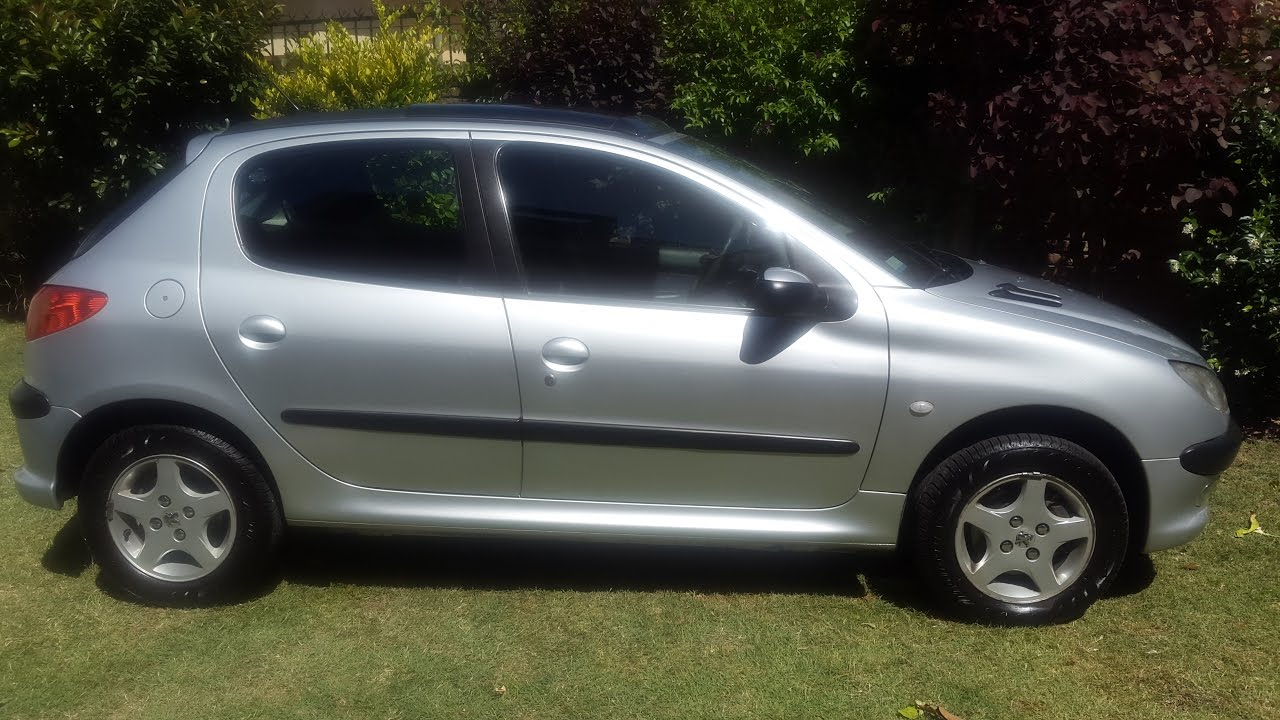 Peugeot 206 2005 Xt Premium 5pts Techo Nafta Abs Airbag