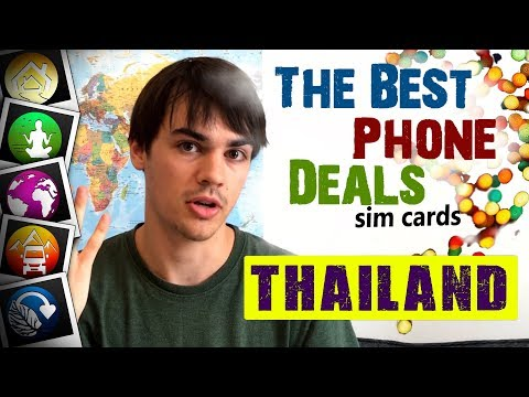 Thai Phone Deals and Sim Cards Explained