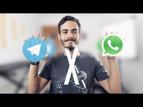 10 Razões porque o Telegram é melhor que o Whatsapp