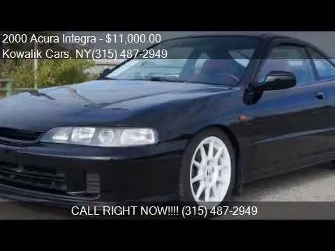 2000 acura integra type r 2dhatchback for sale in syracuse youtube. Black Bedroom Furniture Sets. Home Design Ideas