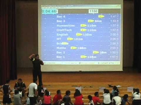 NAS Indoor Rowing Competition 2012
