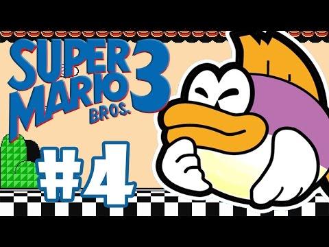 SUPER MARIO BROS 3 #04 - PEIXE GORDÃO