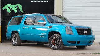 1700hp HP LSX Escalade!! Let's Send it To the Moon!🚀