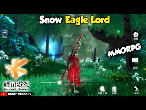 Dari Tencent - Keren Banget Coiii  !!! Snow Eagle Lord (MMORPG) Android