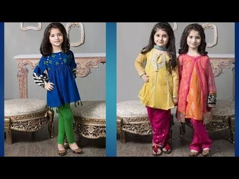 Kid's Cotton Indian Kurti Designs 2019