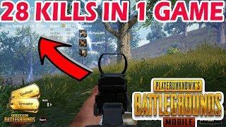 28 KILLS IN 1 GAME | PUBG MOBILE FULL RUSH GAMEPLAY | HIGHEST KILLS GAME PUBG MOBILE | MUST WATCH