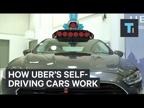 How Uber's self-driving cars work