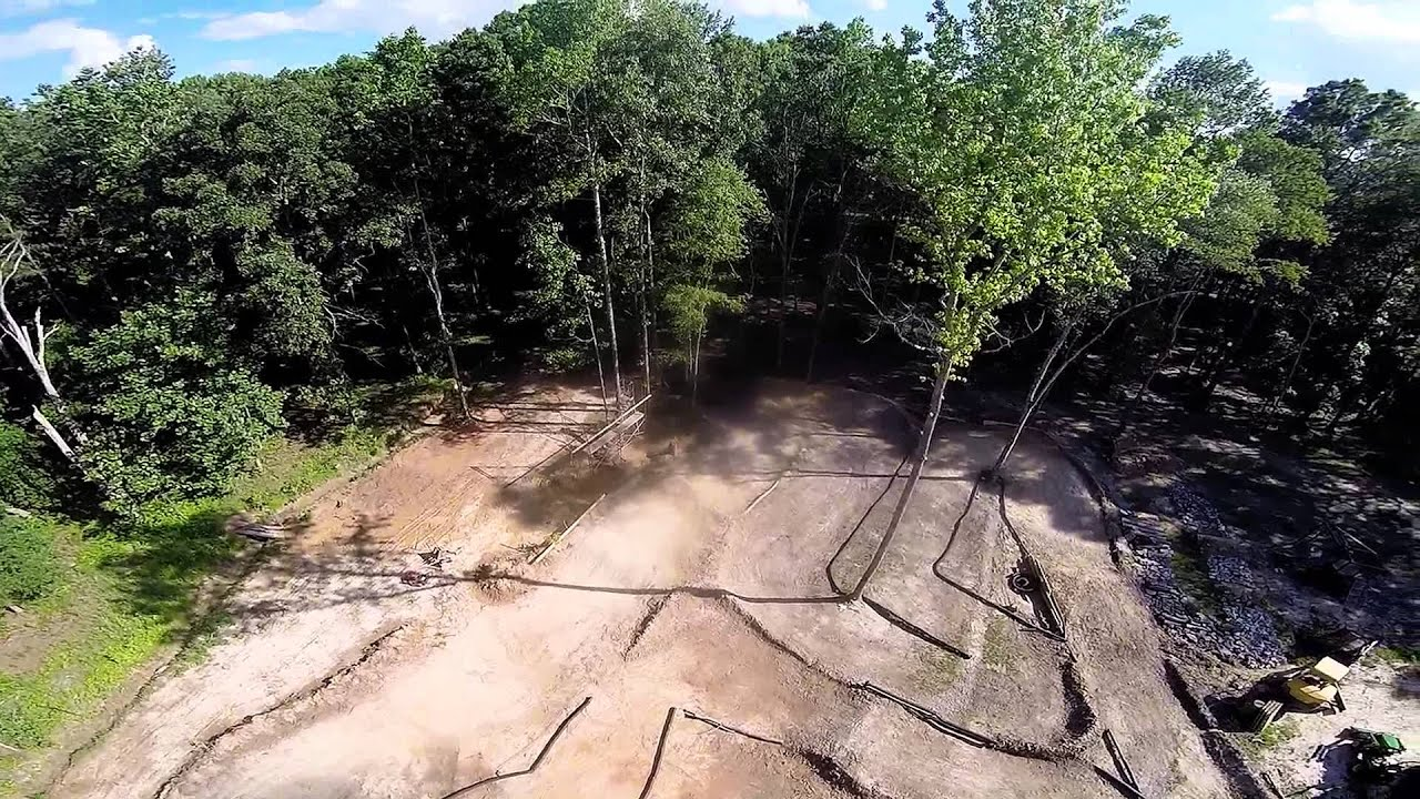 Final build day at the best backyard RC track in Ga. Part ...