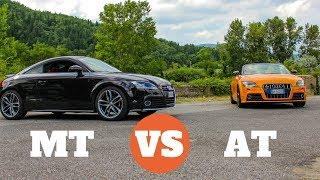 Automatico VS Manuale - Audi TTS Test Drive