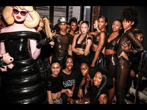 Stevie Boi Presents 'Noir' F/W 17 Collection New York Fashion Week