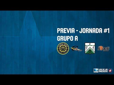 Previa Jornada #1 - Grupo A - DIRECTV Liga de las Américas 2018