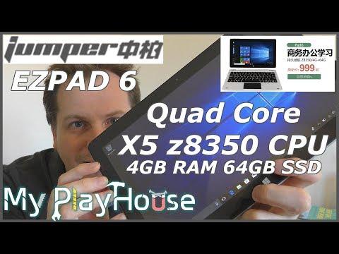 $200-ish Jumper EZPad 6 Win10 Tablet Quad Core 4GB/64GB - 692