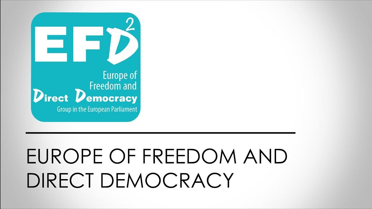 Resultado de imagem para Europe for Freedom and Direct Democracy (EFDD