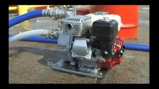 Preparation de la pompe Honda