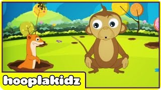 Pop Goes the Weasel | Nursery Rhymes | Children Songs by Hooplakidz