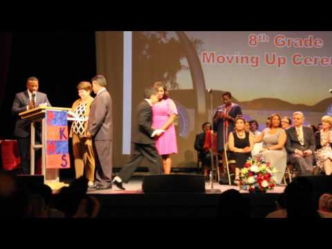 Peekskill Middle School, 8th Grade Moving Up Ceremony, 22 June 2017, 6 of 8