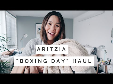 ARITZIA HAUL || Boxing/ Holiday Day Sale