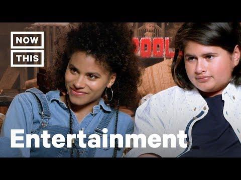 'deadpool-2'-cast-zazie-beetz-and-julian-dennison-talk-about-diversity-in-hollywood- -nowthis