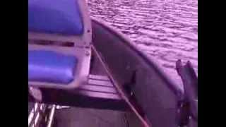 Repeat youtube video Porta-Bote Genesis IV Plus a Yamaha 4hp