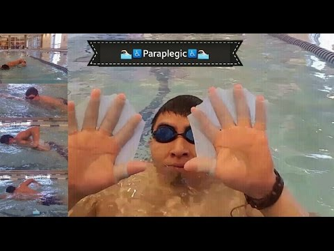 T11 T12comp Pool Dayafter Spinal Cord Injury Youtube
