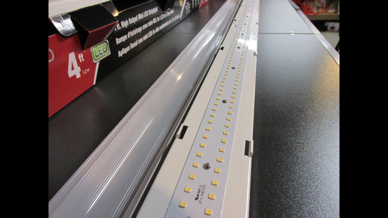 Metalux 4 ft High Output LED Striplight 4SLSTP4040DD120V