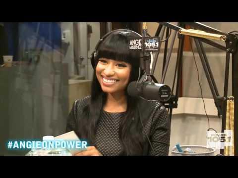 Nicki Minaj Talks Meek Mill w/ Angie Martinez