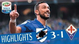Sampdoria - Fiorentina 3-1 - Giornata 21 - Serie A TIM 2017/18