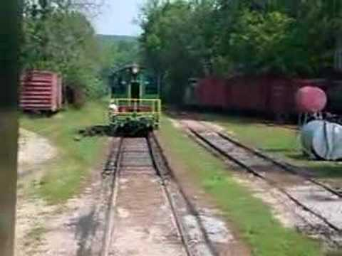 ES&NA Railway (Coupling up to the passenger car)