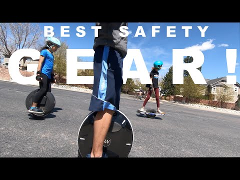 My Safety Gear for Onewheel & EUC: Lazyrolling 1Protect Flatland3D