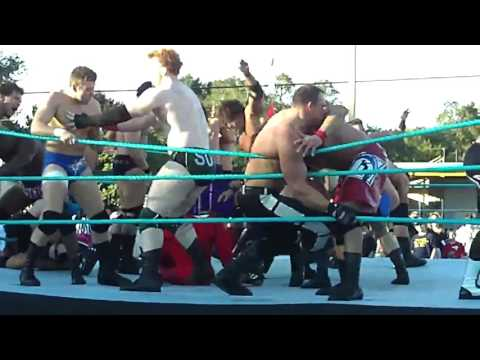 WWE's FCW 30 Man Battle Royal ft Colt Cabana + more (1.17.09)