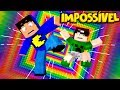 Minecraft: QUEDA IMPOSSÍVEL!  🌈 (DESAFIO ARCO-ÍRIS)