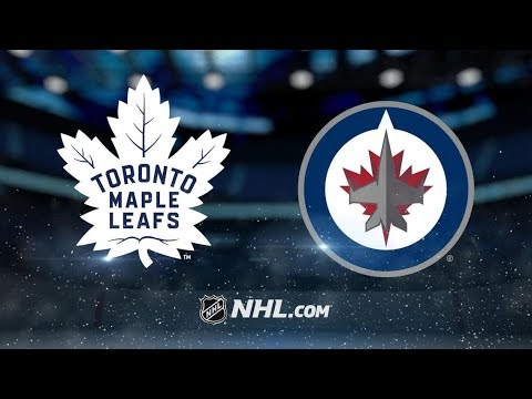 Toronto Maple Leafs vs Winnipeg Jets | Oct.24, 2018 | Game Highlights | NHL 2018/19 | Обзор Матча