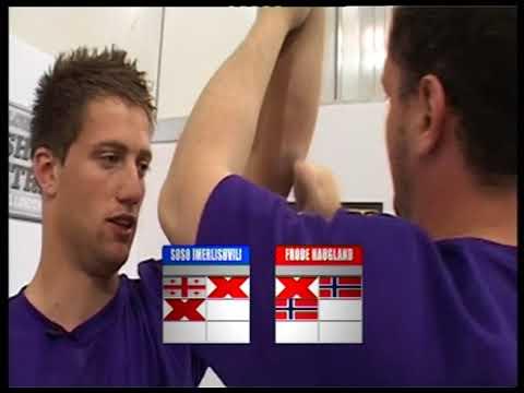 Arm Wars | Armwrestling | Haugland NOR v Imerlishvili GEO | Left